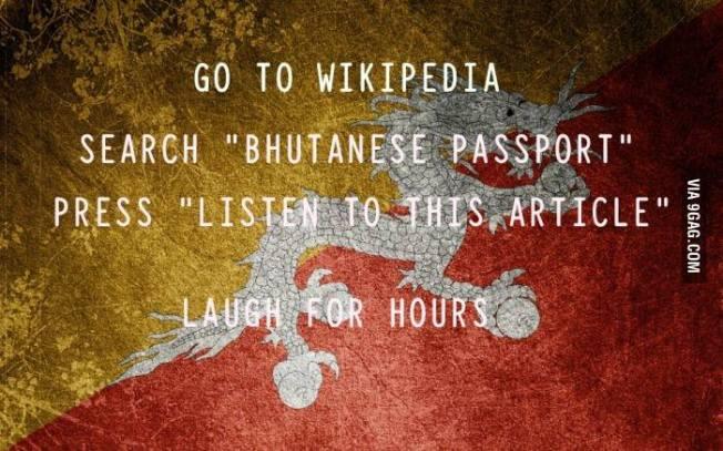 Bhutanese Passport