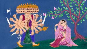 Ravana Sita